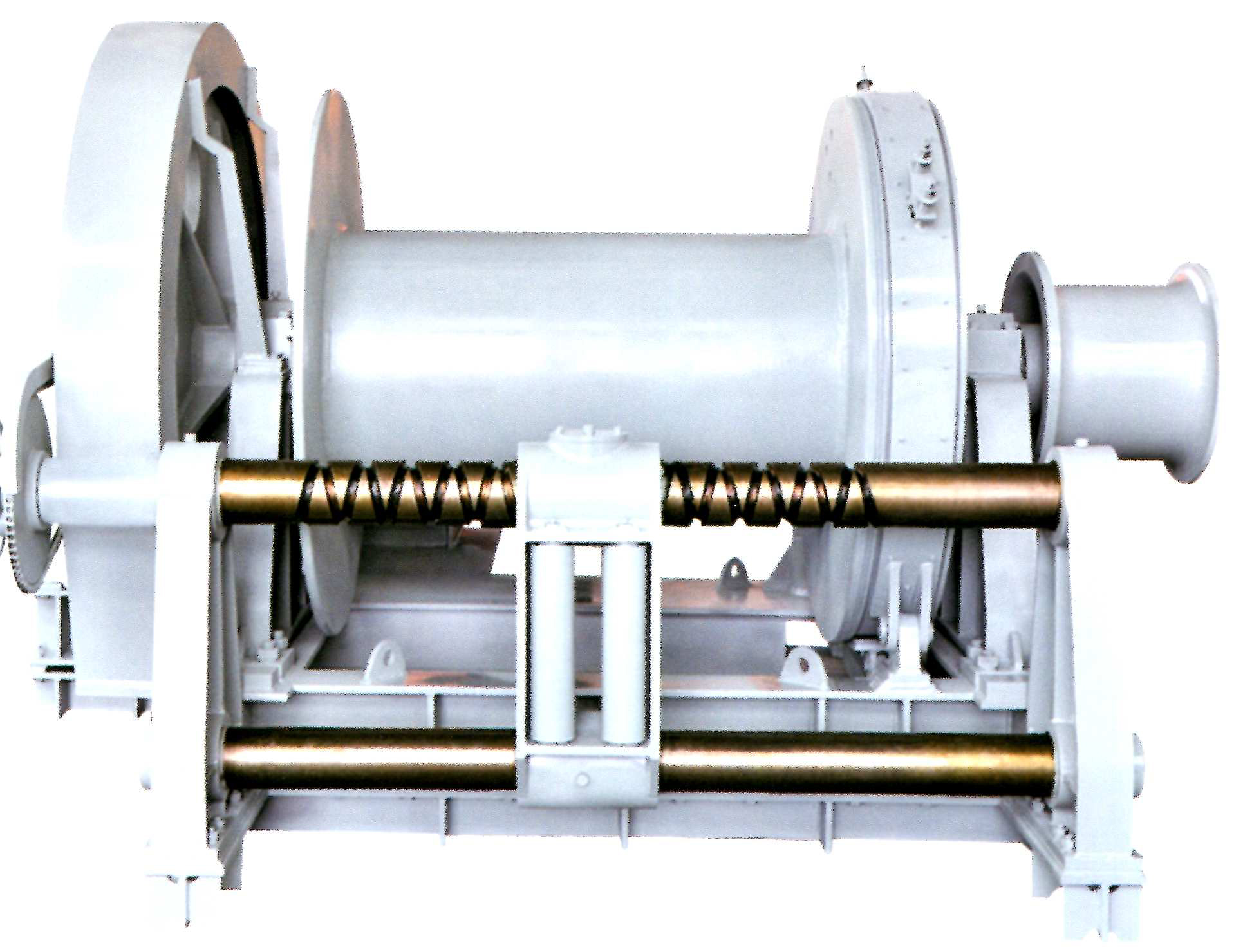 winch for engineering vessel