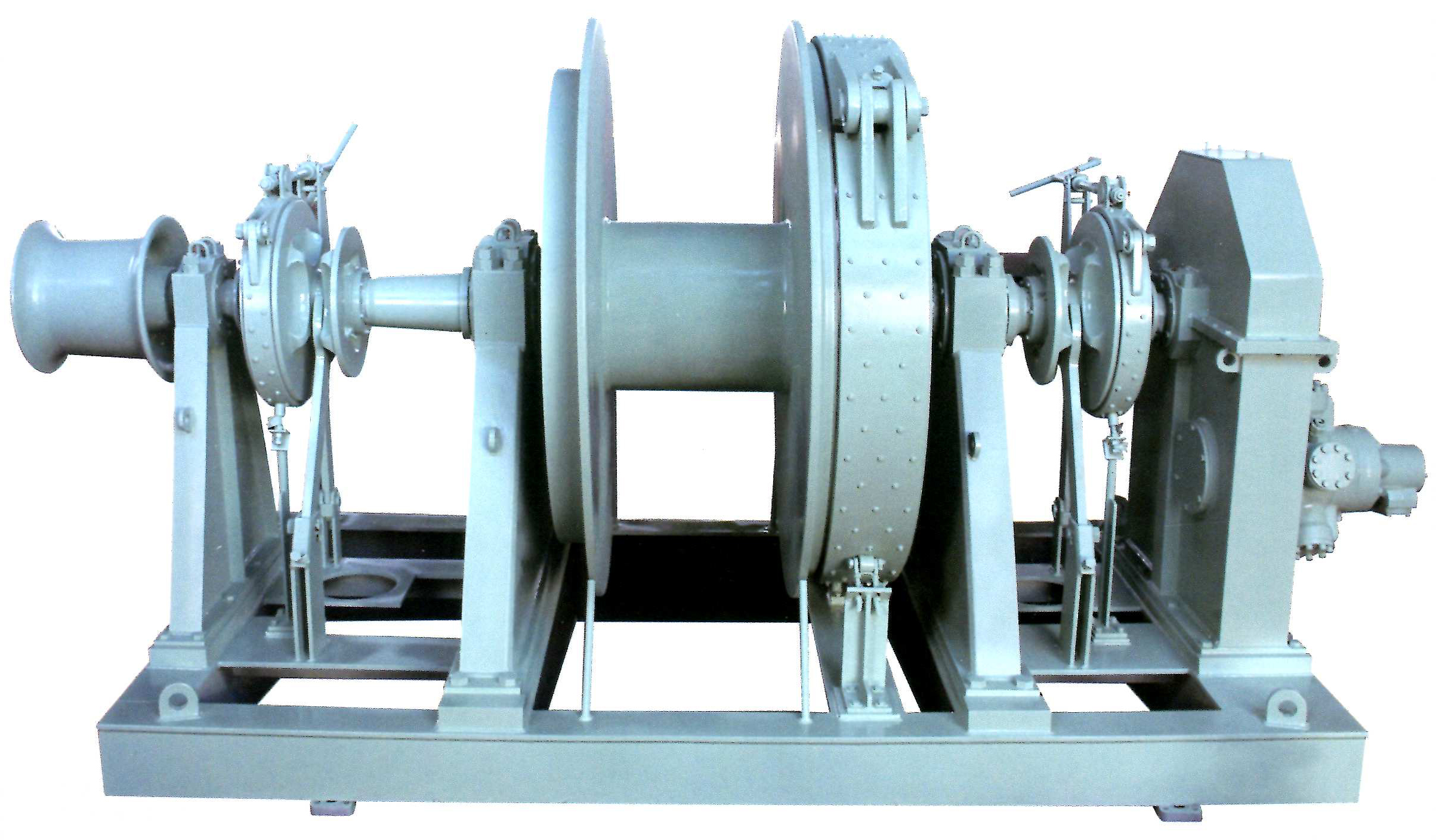 tug vessel towing winch