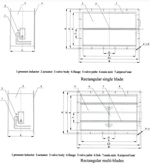 RD type pressure release damper
