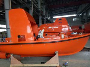 F.R.P rescue boat